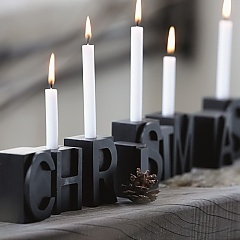 Candle CHRISTMAS - House Doctor - Accessorize your Home