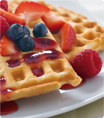 Favorite Waffles        Prep 10 min Total Time 15 min Servings 4  Ingredients                                    2 cups Krusteaz Buttermilk Pancake Mix     1 1/2 cups cold water     1 egg   …