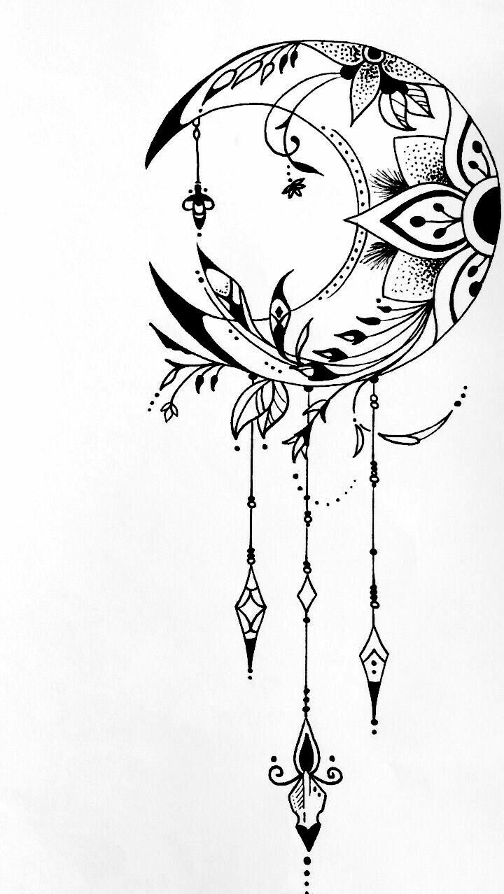 Pin By Ivona On Drawing In 2020 Dream Catcher Tattoo Design Cool Art Drawings Dream Catcher Tattoo