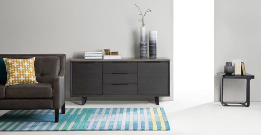 Boone Sideboard, Concrete resin top | made.com