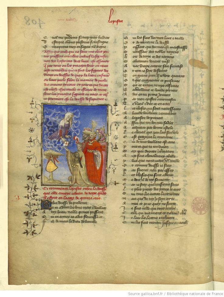 L'Epistre Othea à Hector, fol 1v