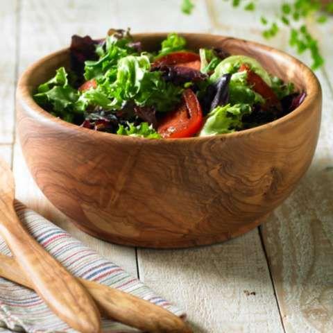 Weekly Wellegant Find: Acacia Wooden Salad Bowl