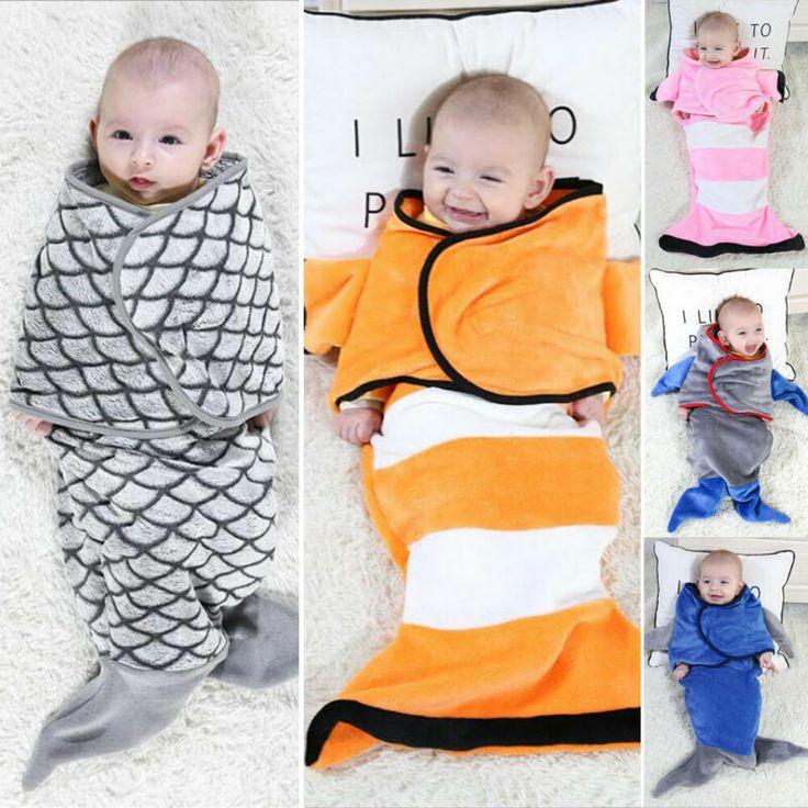 Buy Baby Swaddle Blanket Cosy Secure Sleeping Bag for Pram ...