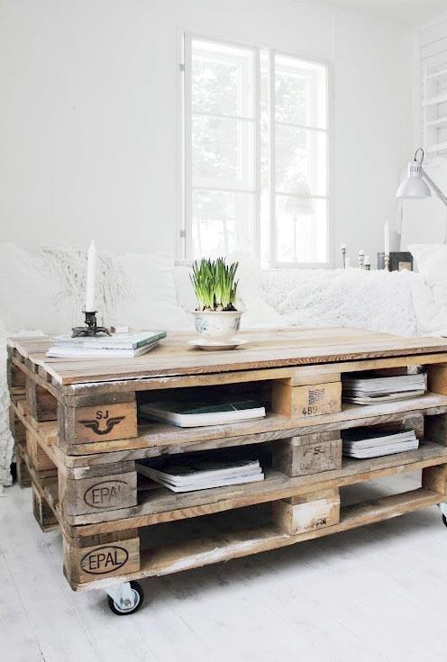 Riciclo creativo del legno