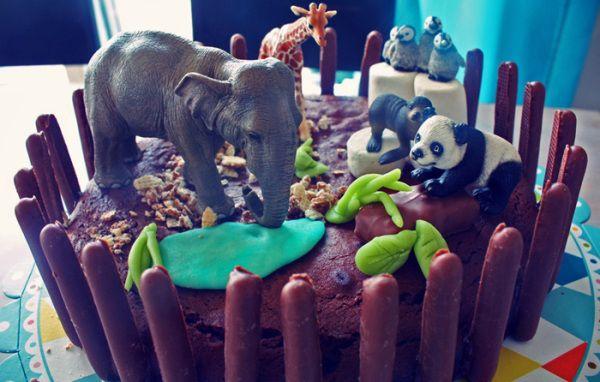 Un gâteau zoo !                                                                                                                                                                                 Plus