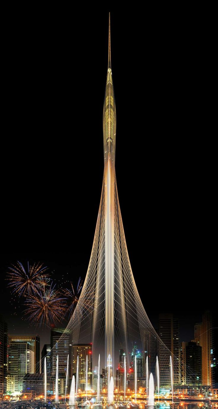 """As Great as the Burj Khalifa and the Eiffel Tower"": Santiago Calatrava's Vision for Dubai's Next Icon - Architizer"