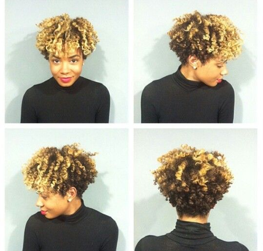 I love, love, love, Mckenzie Renae's tapered cut! Picture courtesy of @Dee Carrington at the Loop Salon in Atlanta, GA.