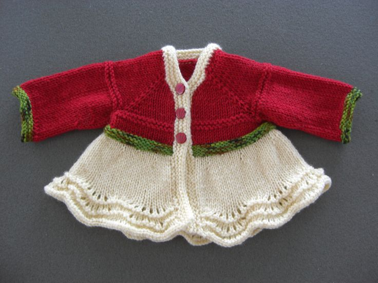 Baby sweater - to make for Nikki