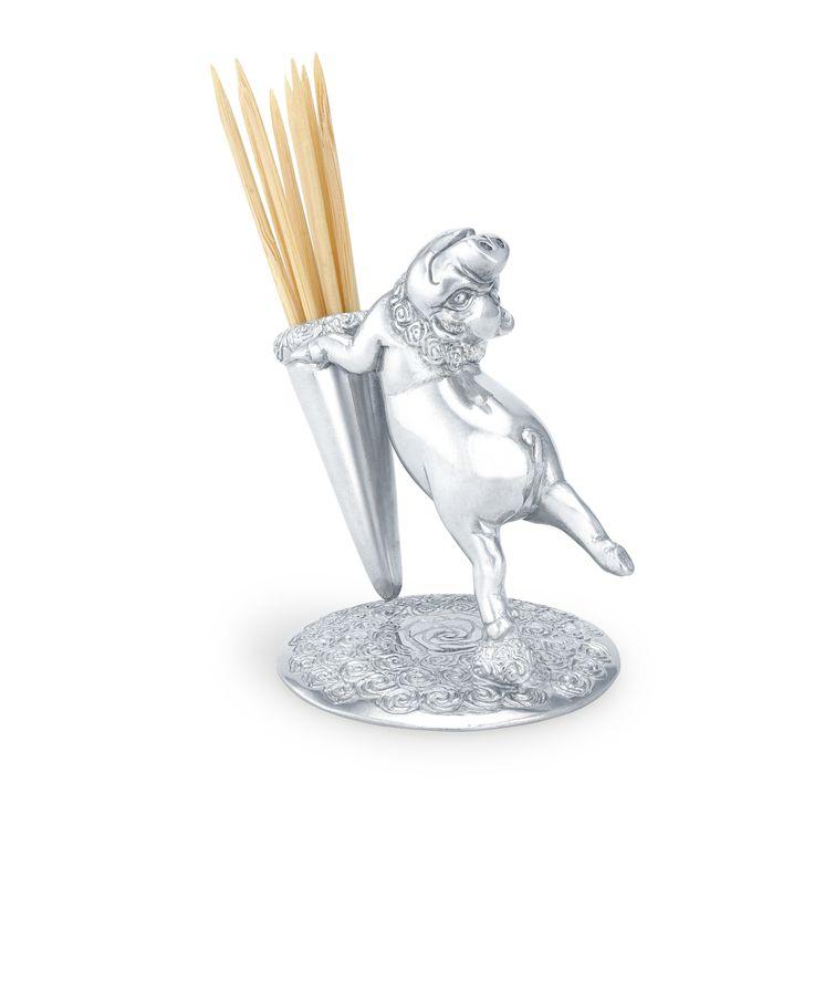 Pig Toothpick Holder
