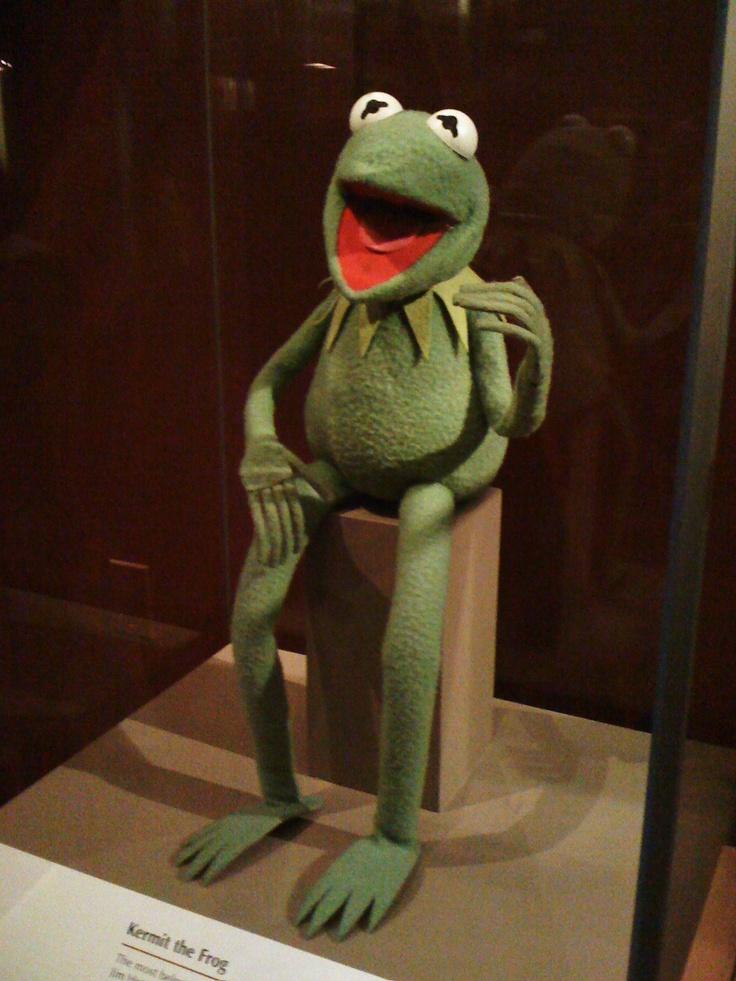 The original Kermit The Frog puppet..I still have mine....won't get rid of it