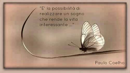 It's the possiblity of realizing a dream that makes life interesting....