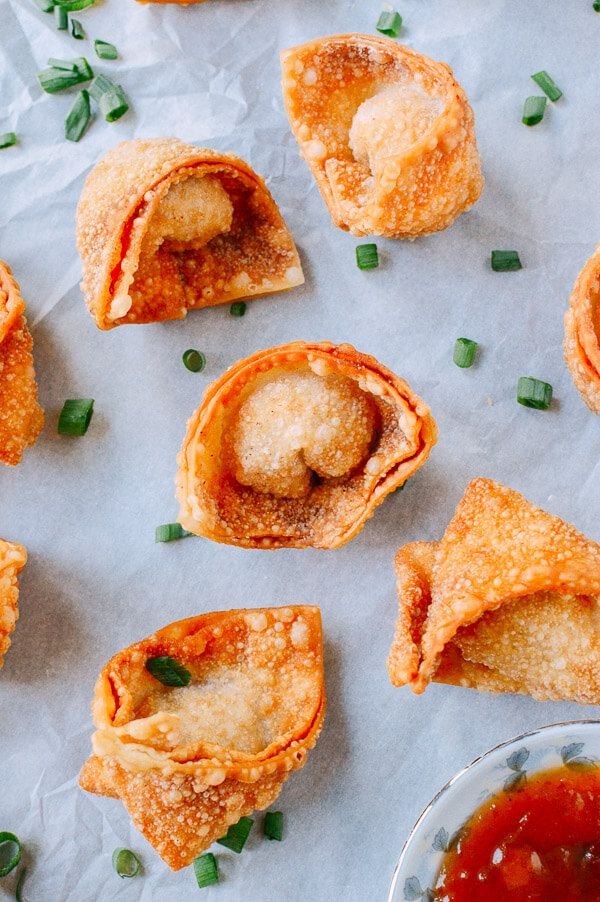 Fried wontons are a crispy, crunchy, delicious appetizer that will have your guests talking about them long after the party's over. Check out the recipe.