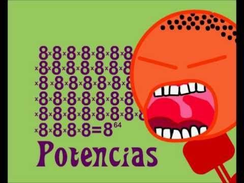 Las aventuras de Troncho y Poncho. Potenciación. Definición y Propiedades