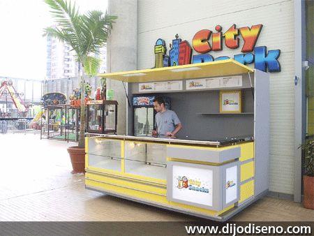 Punto de venta city snaks ubicado en c cuta colombia cafe pinterest industrial - Ideas para montar un bar ...