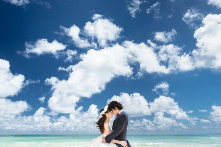 青空と時間帯 |ハワイ☆ウエディングカメラマン