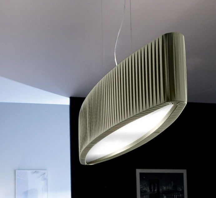 The elliptic motion creates vibrations transforming this lamp into the central feature. #Elisse by #Lika