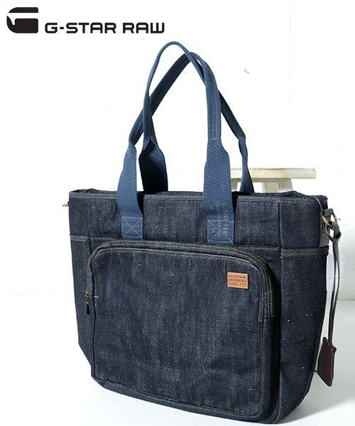 G-star RAW sister Rowe tote bag TOTE DAVIS denim tote bag bag bag (men and women) / Bolsa /