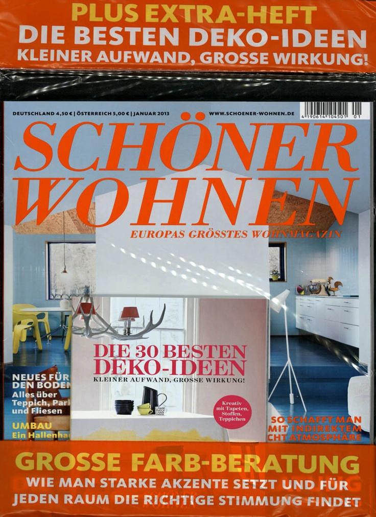 SCHÖNER WOHNEN Heft 01/2013