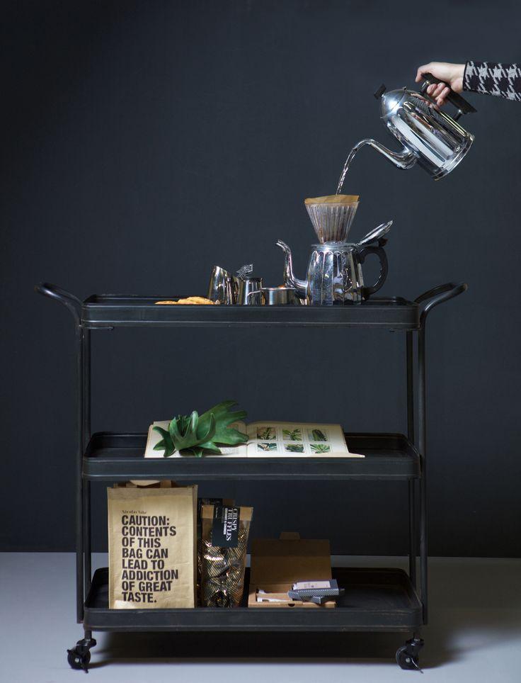 Metal Tea Trolley. New collection BePureHome - bepurehome.com…