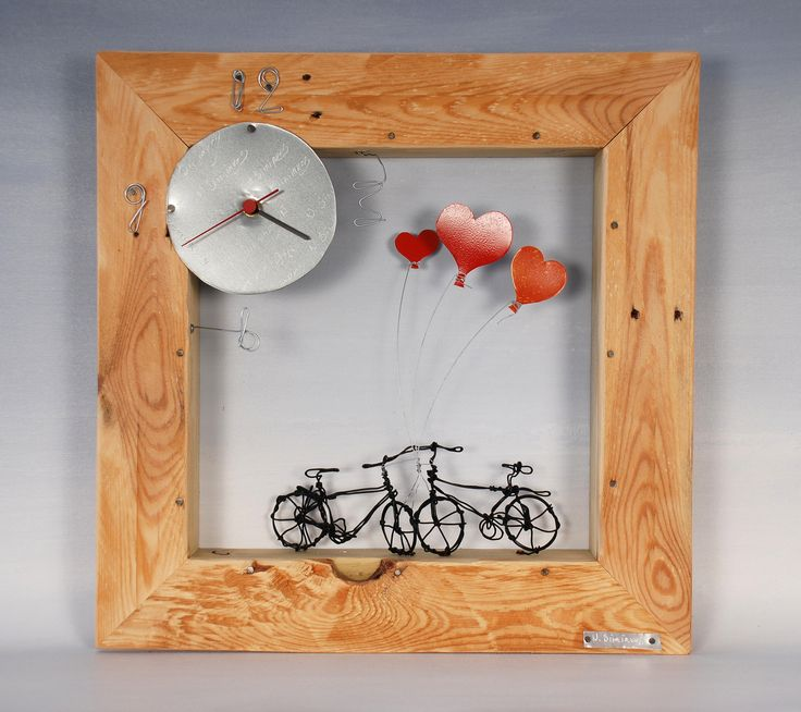 #Frames (clocks) #contemporary #art #modern #handmade #unique #gallery #Rhodes #Greece