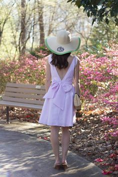 Caralina Style: My Carolina Cup outfit with @laurenjamesco and @marleylilly
