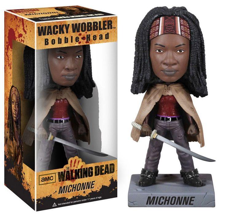 The Walking Dead Wacky Wobbler Wackelkopf-Figur Michonne 18 cm The Walking Dead Wackelkopf - Figuren - Hadesflamme - Merchandise - Onlineshop für alles was das (Fan) Herz begehrt!