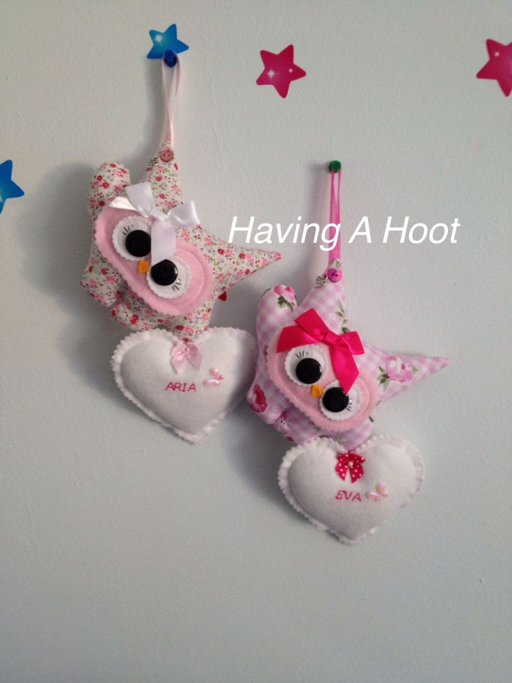 Two Little Girlie Hoots of Love