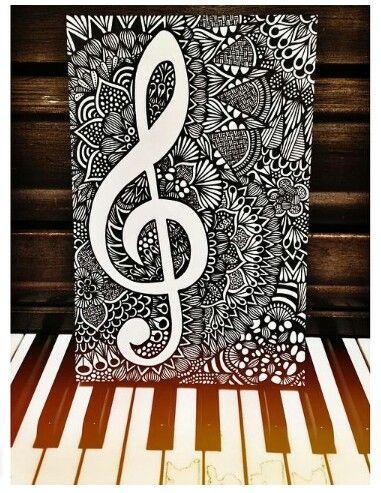 M s de 1000 ideas sobre dibujos de notas musicales en Notas de espectaculos mas recientes