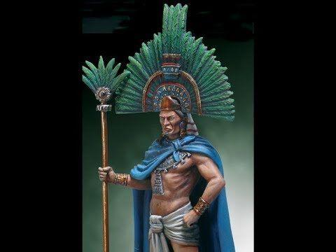 Misterioso objeto ancestral 01, El Penacho de Moctezuma. - YouTube