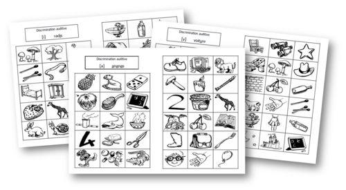 ~Discriminer les sons - fiches d'exercices~ | Fiches, Lecture gs et Exercice ce1
