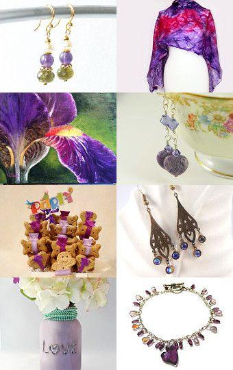 Purple Passion by Katrina Hagler on Etsy--Pinned with TreasuryPin.com