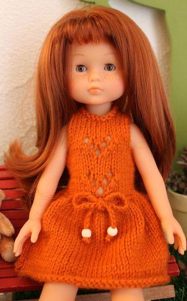 Tutoriel robe Louison pour poupée Les Chéries (tricot)