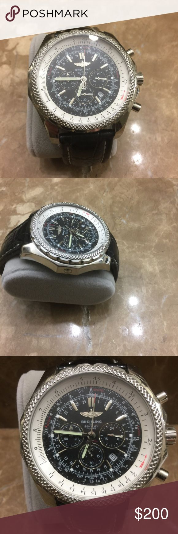 Breitling men watch Inspired breitling watch preowned in great condition Breitling Accessories Watches