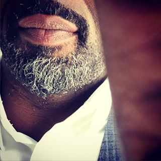 Or showing off his beard on his 42nd birthday. | Literally Just 28 Important Instagram Photos Of Idris Elba