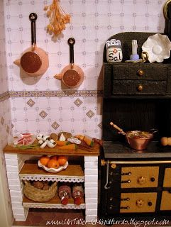 78 best miniature cucine images on Pinterest | Doll houses, Kitchens ...