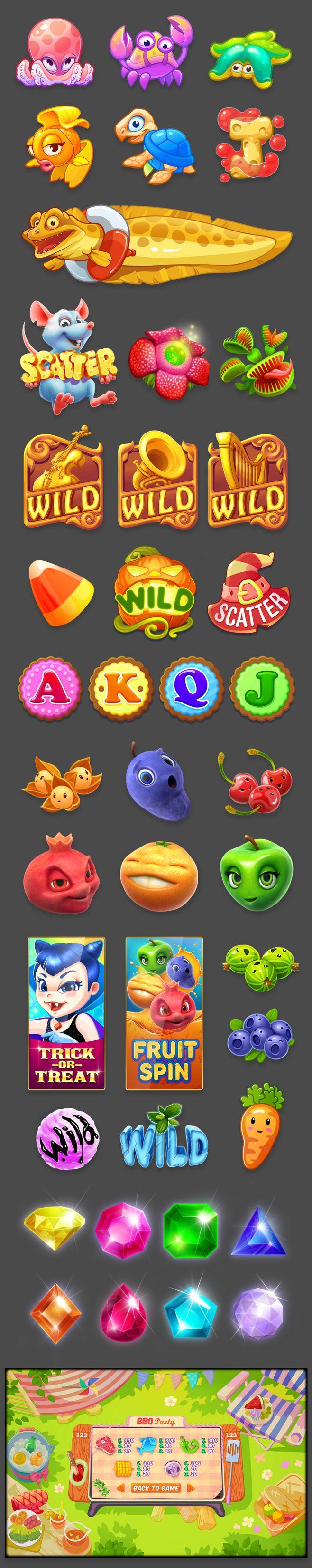icons for Gambino sl...