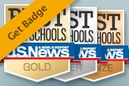 School administrators, get a badge for your nationally ranked high school.