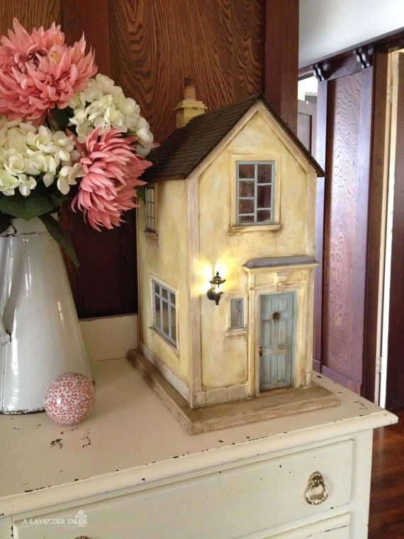 French Country Manor Miniature Dollhouse, 'Vieilles Pierres'.