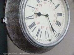 Horloge de gare, déco brocante, Antic Line