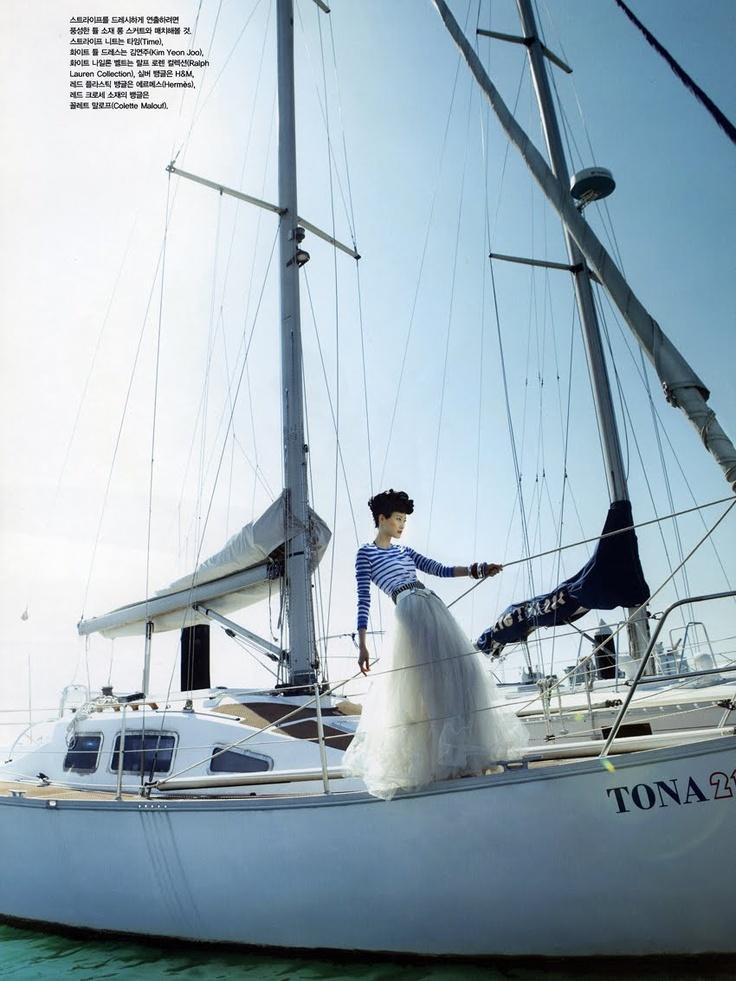 Model: Hyun Yi Lee (Major) Editorial: Bon Voyage Magazine: Vogue Korea, May 2010 Photographer: Bo Lee
