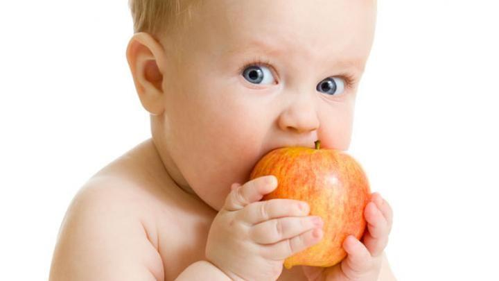 Pas de purées pour bébé = pas de fine bouche!                                                                                                                                                                                 Plus