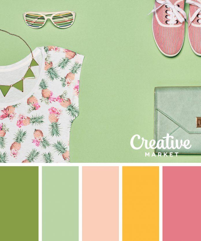 10 palettes de couleurs pastels à télécharger pour l'été - Page 8