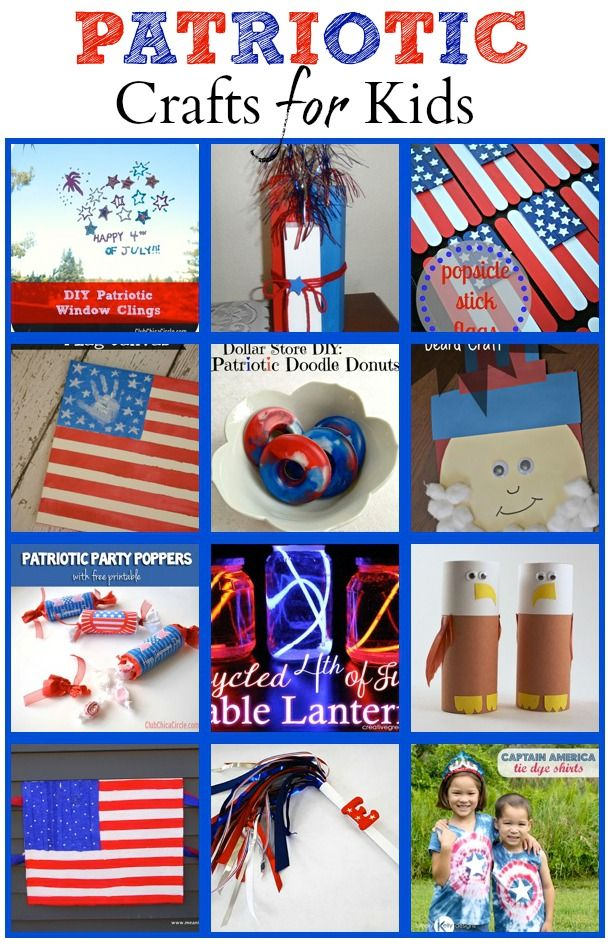 Patriotic Crafts for Kids - The Joys of Boys