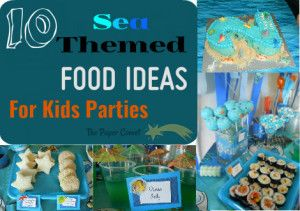 Sea themed food ideas