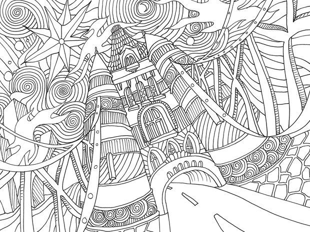 17 best images about coloringbookstyle on pinterest