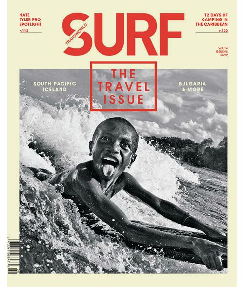 Transworld Surf,  that is one quick pic there -  what is it about kids - you point a camera at them and they stick out their toungues??????
