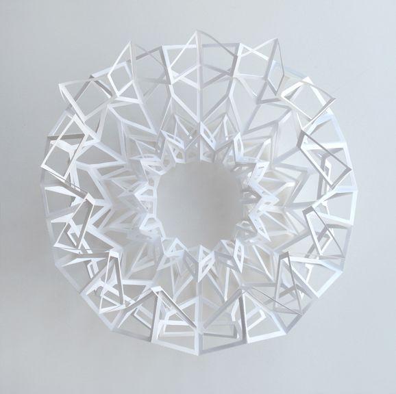 Paper Art Sculpture By Matthew Shlian - 29 | Designalmic