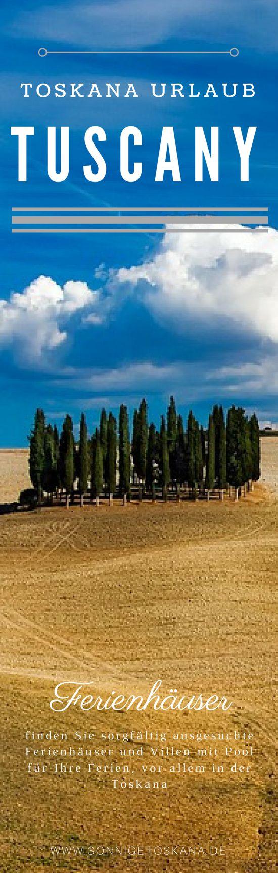 Ferienhäuser und Villen mit Pool für Ihre Ferien, vor allem in der Toskana