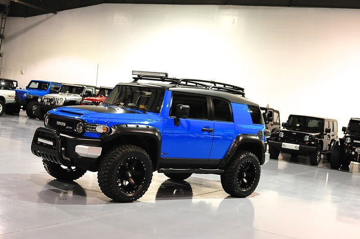 Davis AutoSports TOYOTA FJ CRUISER LIFTED / NEW EVERYTHING / FOR SALE