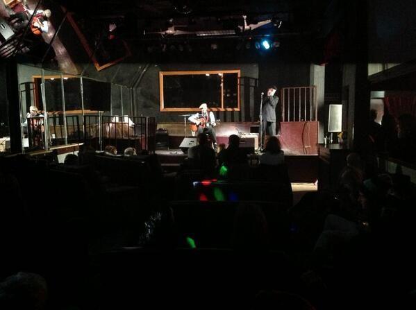 Danish guitar and harp duo Tim Lothar and Holger Daub at Club 152.